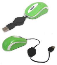 Mini Mouse Mini Maus Optische USB Notebook Laptop Grün Blau Orange - Neu