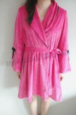 Soft Warm Short Luxurious Bathrobe Toweling Robe Dressing Gown Pajama