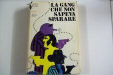 JIMMY BRESLIN-LA GANG CHE NON SAPEVA SPARARE-MONDADORI 1971 PRIMA EDIZIONE