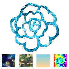 Rose Flower - Vinyl Decal Sticker - Multiple Patterns & Sizes - ebn581