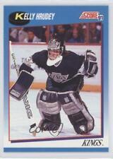 1991-92 Score Canadian Bilingual #451 Kelly Hrudey Los Angeles Kings Hockey Card
