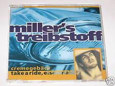 Miller's Fuel-cream pastry maxi CD single (e84)