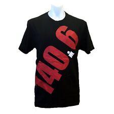 IRONMAN Triathlon Men's Giant 140.6 T-Shirt - Black *New with Tags*