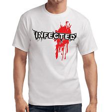 Infected | Zombie | Blood | Horror | Gamer | Nerd | Geek | Fun | S-XXL T-Shirt