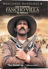 And Starring Pancho Villa as Himself (DVD, 2004) w/Antonio Banderas Sealed
