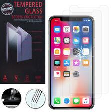 2 Film Vetro Temperato Protettore Protezione alta qualità Serie Apple iPhone