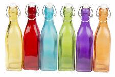 Menageset Essig Öl Spender Glasflasche Vorratsglas Bügelverschluss Menage Set