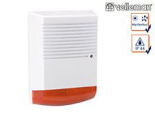 Dummy Sirene mit blinkender LED wetterfest Batteriebetrieb Alarmanlagen Attrappe