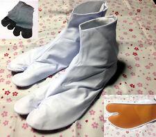 White Japanese JikaTabi Boots Ninja Shoes SAMURAI Low Tops SOCKS with Bonus