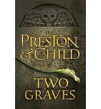 Two Graves Preston & Child Hardcover Book Club edition