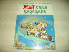 ASTERIX CHEZ RAHAZADE EDITION ALBERT RENE ANNEE 1987