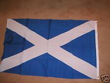 SCOTLAND ST ANDREW SALTIRE FLAG  5'X3' Light Blue