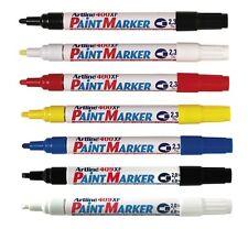 Artline Paint Marker Pen Waterproof Oil Markers Pens Car Tyres Metal Bullet Tip