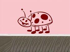 LadyBug Wall Decal Sticker Home Decor Family