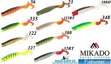 MIKADO FISHUNTER ''MAGNA'' SOFT LURES, 18 CM (7''), PACK OF 2, BIG GAME,PREDATOR
