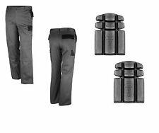 Bundhose inkl Kniepolster grau schwarz Montagehose 42-64 Arbeitshose Image Hose