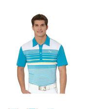 PUMA Golf Rickie Fowler Mens YD STRIPE Polo Shirt NWT 2XL XXL