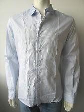 John Galliano Jeans Hemd Shirt Camicia Gestreift Neu 50 54