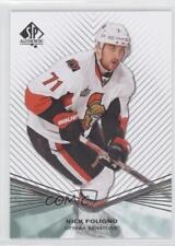 2011-12 SP Authentic #11 Nick Foligno Ottawa Senators Hockey Card