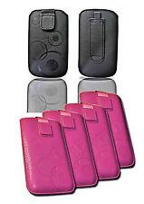 UNIVERSALE Per Cellulare Custodia Protettiva Cover Case Guscio Astuccio con nastro estraibile selezione