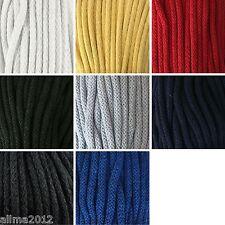 5 Meter 0,30€/m oder 50 Meter 0,25€/m Baumwollkordel 6mm Kordel Baumwolle Schnur