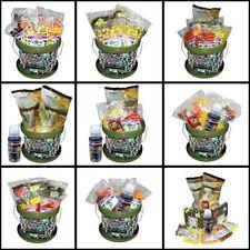 Marukyu NGT Fishing Carp Boilie  Mixed Bait Bucket Hemp & Corn Multi Option