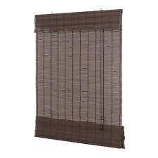 Bambus Raffrollo dunkelbraun Bambusraffrollo Afrika Stil Holzrollo