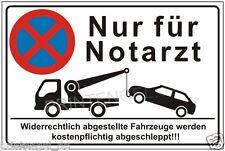 Parkverbot,Warnschild,Notarzt,Schild,Schilder,Parken,verboten,Halteverbot,P174+