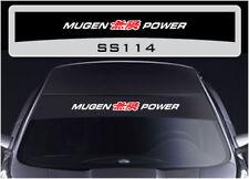 Mugen Power sunstrip sticker decal SS114