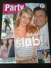 PARTY 12/2012 front Joanna Krupa in.Vanessa Hudgens,Gwen Stefani,Jane Fonda