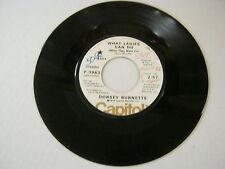 Dorsey Burnette Tangerine/What Ladies Can Do 45 RPM Capitol