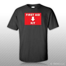 First Aid Kit T-Shirt Tee Shirt Free Sticker emergency rescue