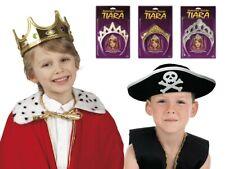 Kinder-Kostüm König Prinz Prinzessin Königin Fasching Karneval Kopfbedeckung NEU