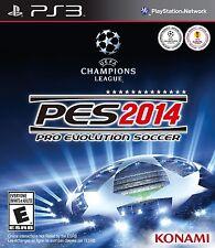 NEW Pro Evolution Soccer PES 2014  (Sony Playstation 3, 2013)