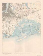Topographical Map Print - Brooklyn New York Quad - USGS 1891 - 17 x 22.38