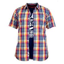 DUKE D555 hommes Designer Chemise manche courte / t-shirt combo -