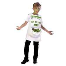 Kids Boys Girls Novelty Slimy Toilet Loo Sewer Rat Slime Halloween Costume