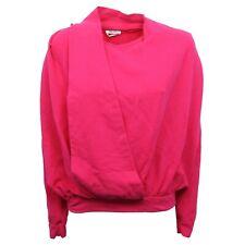 B7804 felpa donna CYCLE maglia fuxia sweatshirt woman