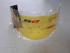 VISIERA CASCO LS2 FF351 FF352 FF369 FF384 YELLOW GIALLA