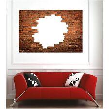 Affiche poster mur en brique22678678