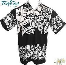 The Classic Mens Hawaiian Shirts Plus Size Black Bucks Party
