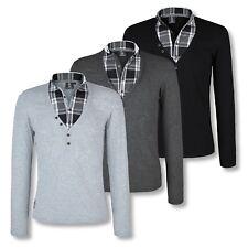 CARISMA  LONGSLEEVE - Herren T-Shirt - Hemd - Pullover - 3 Farben - Gr. S - XL