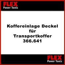 FLEX Handy Giraffe WSE 7 Vario Koffereinlage (366.641) Deckel # 383.902 NEU!!!