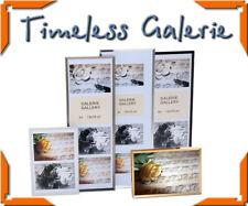 Timeless Galerie Kunststoff mit Passepartout Bilderrahmen Collage Fotogalerie