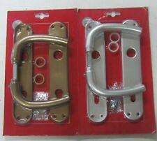Manipuler X Porte Plaque Trou Yale Aluminium Argenté ou Bronze 801 Neuf