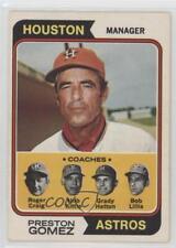 1974 O-Pee-Chee #31 Preston Gomez Roger Craig Hub Kittle Grady Hatton Bob Lillis
