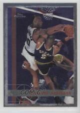 1997-98 Topps Chrome #202 Clifford Robinson Phoenix Suns San Antonio Spurs Card