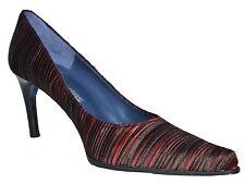 Souliers San Donato Rouge et Noir Cour Chaussures nouveau SP £ 99.50