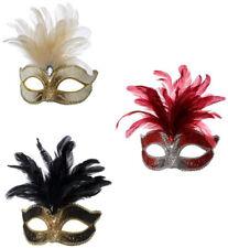 Augenmaske gold silber für Damen Frauen Kostümzubehör Fasching Karneval Masken