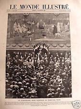 LE MONDE ILLUSTRE 1920 N 3285 HOMMAGE AU MARECHAL FOCH
